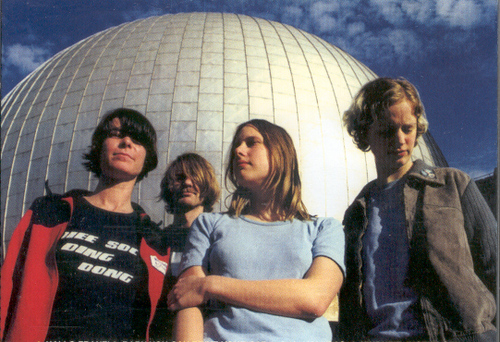 Die Pop Tarts: Julia Wilton, Olga-Louise Dommel, Franziska Schwarz und Hendrik Hellige