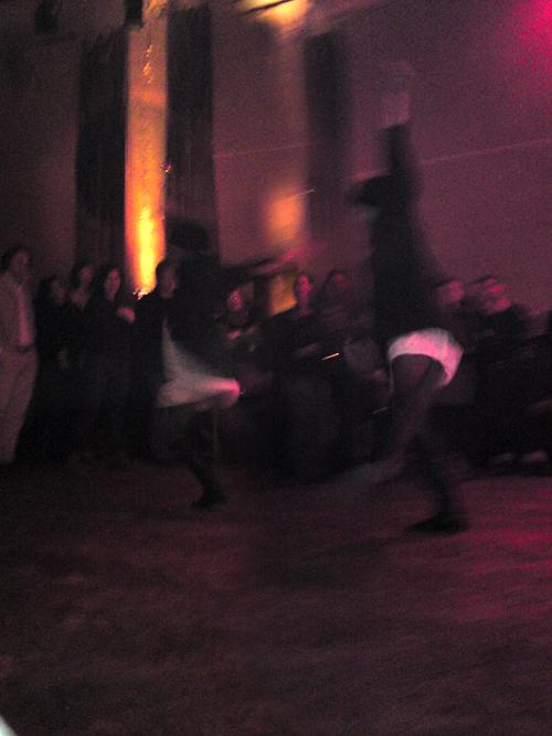 "Kristina Hanses bei der ""amSTART""-Gala im Berliner Ballhaus Ost, 22.12.2009 - Foto: Caries Föhn"