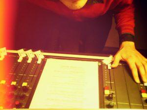 Zonic Radio Show Nord: Martin Hiller im Studio von radio 98eins