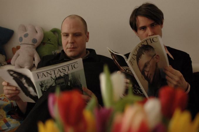 "Phantom Ghost studieren die ""Fantastic Man"" (Photo: Jutta Pohlmann)"