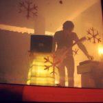 Huey Walker live at Art Cube – Raum für zeitgenössische Kunst, 2012 (Photo: Enrico Pense)