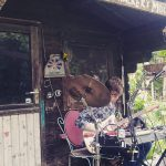 Huey Walker live beim Fleischervorstadt-Flohmarkt, 2016