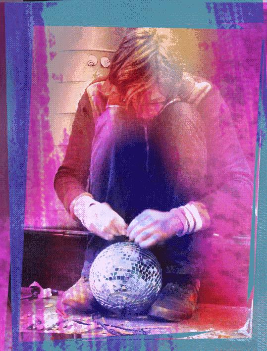 Discokugel-Melancholie: Huey Walker, Silvester 2009
