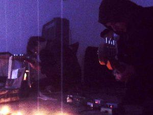 Huey Walker & Bassbees live at Art Cube - Raum für zeitgenössische Kunst, Jan. 2013
