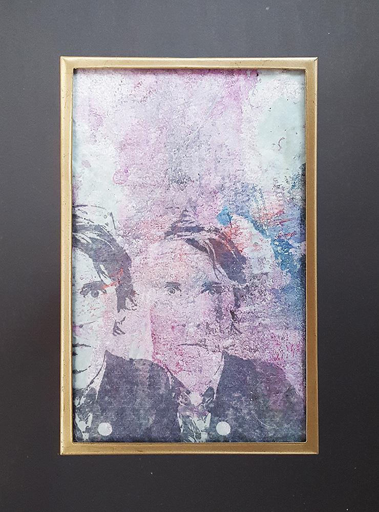 """Martin Hiller - """"Portreats I"""" (2015 / 11,6 x 18,6 cm)"""