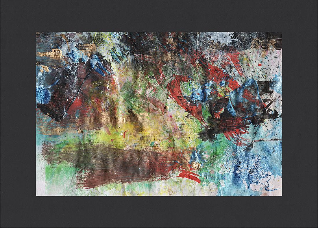 """Martin Hiller - """"Ohne Titel (Glunch Poems XIV) (2016/19 / 19 x 12,7 cm)"""