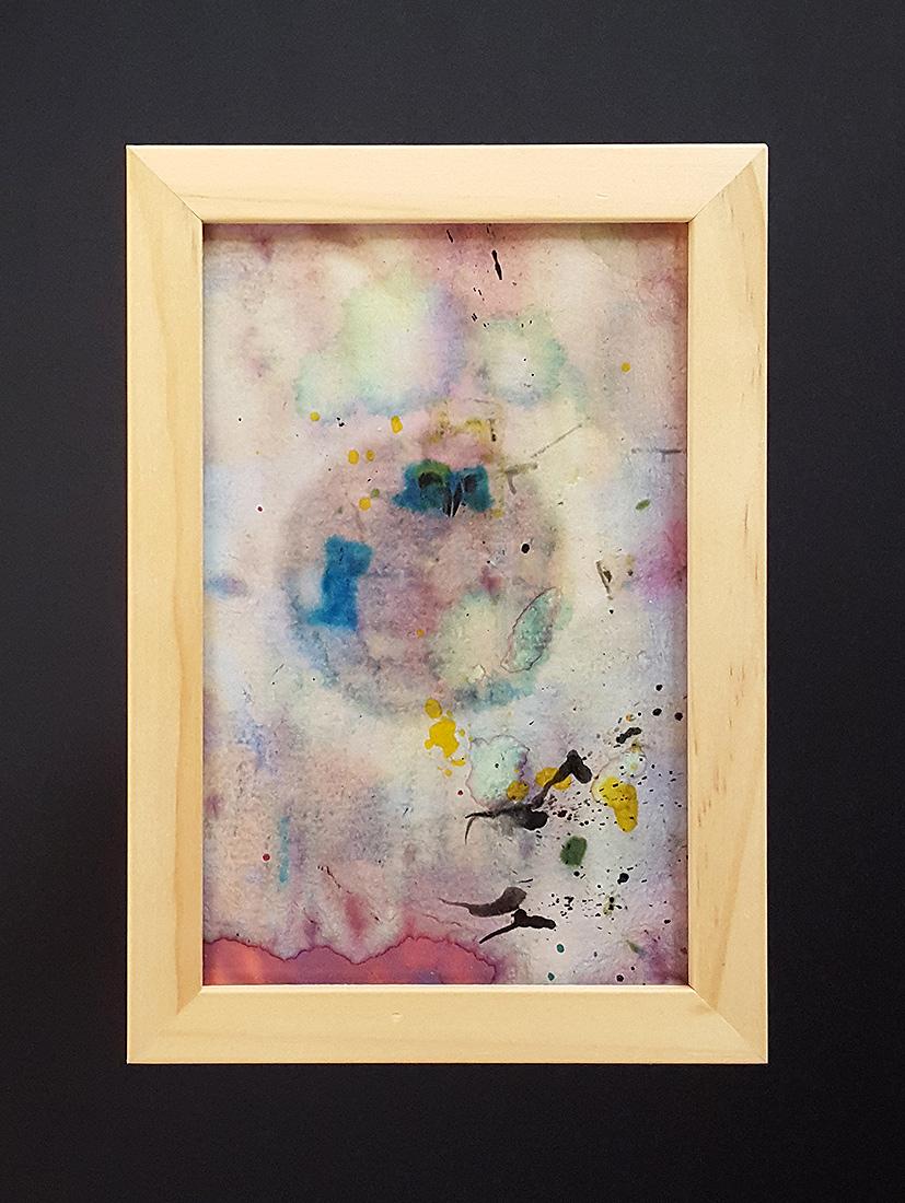 "Martin Hiller - ""Ohne Titel (Glunch Poems V)"" (2013 / 9 x 14,1 cm)"