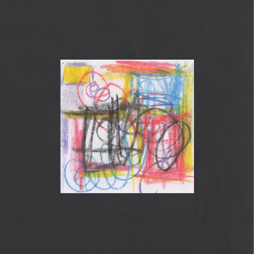 "Huey Walker - ""Hurley Wakes"", pc. 042 (8 x 8 cm, 2019)"