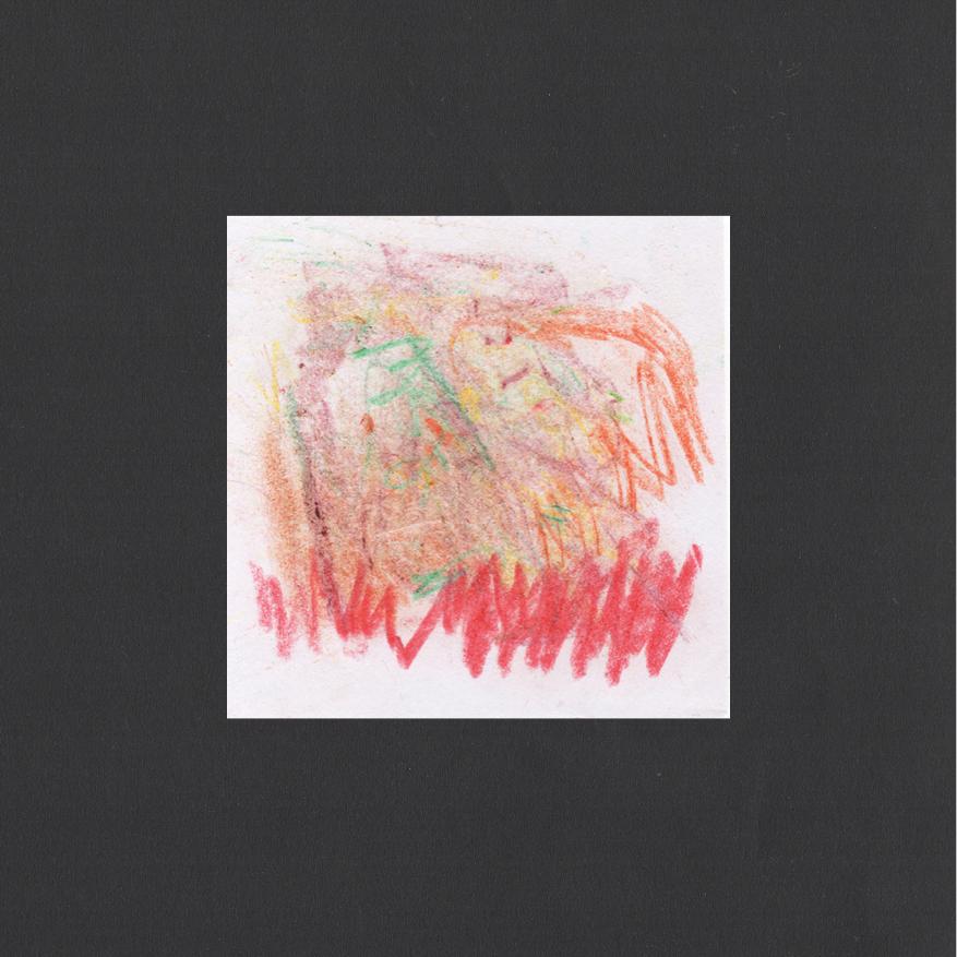 "Huey Walker - ""Hurley Wakes"", pc. 058 (8 x 8 cm, 2019)"