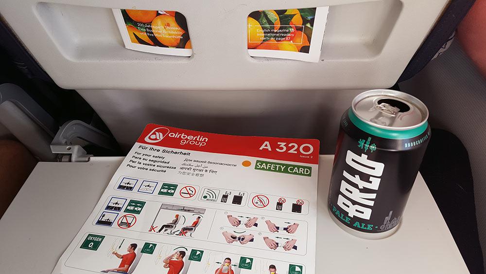 Safety first: Sicherheitsanweisungen und Bier
