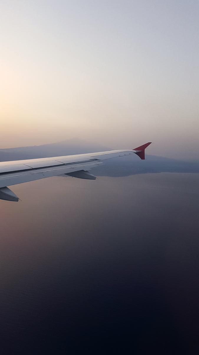 Ätna-Panorama zum Sonnenuntergang