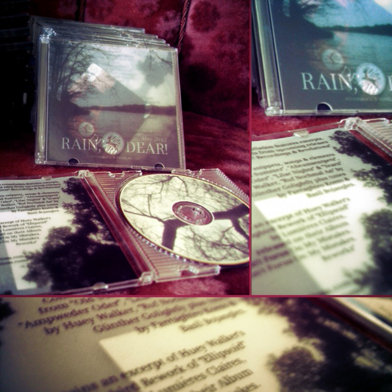 "Foto: Promo-Sampler ""Rain, Dear! Recordings & Revelations - May 2012"""